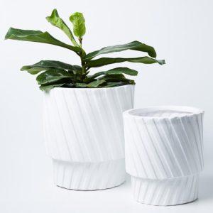 Moma Planter Set White