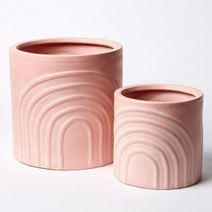 Rainbow Pot Set Pink