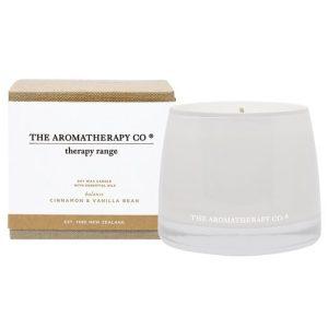 Therapy Candle Balance Cinnamon & Vanilla Bean