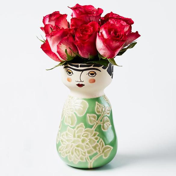 Online Frida Face Vase