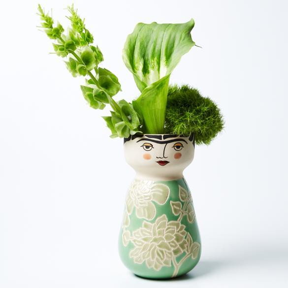 Frida Face Vase Planter